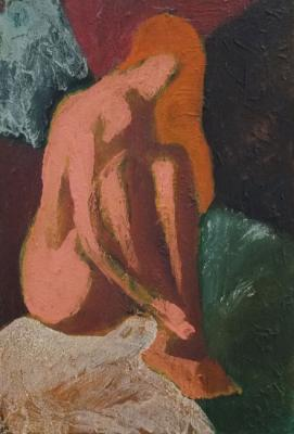Nude in the evening light 214. Karpov Evgeniy
