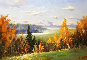 Autumn gold. Nesterchuk Stepan