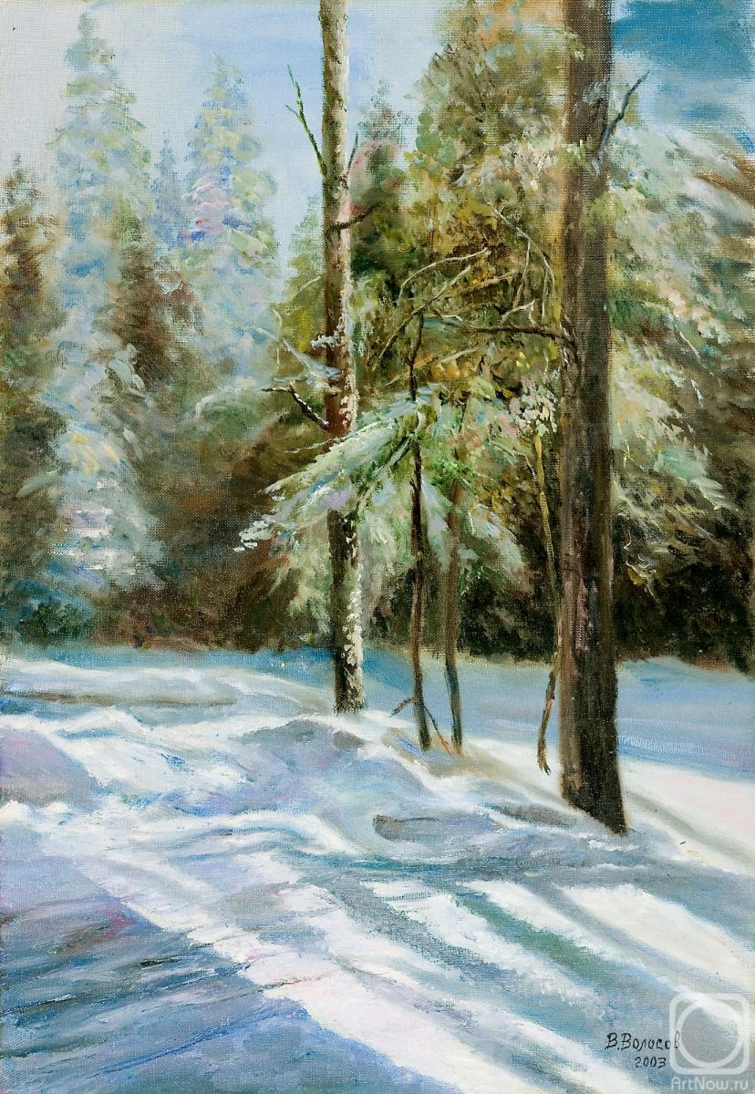 Volosov Vladmir. Winter forest
