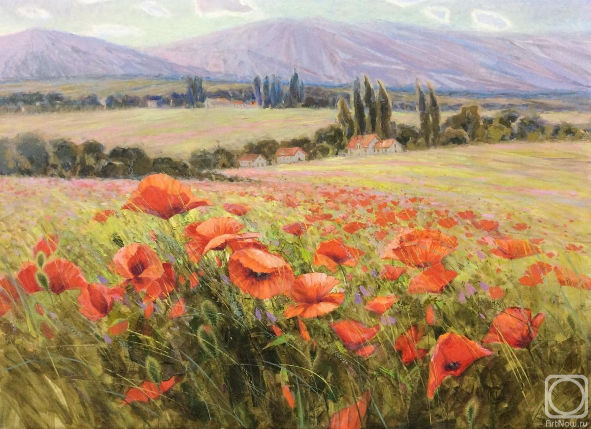 Komarova Elena. Poppy valley
