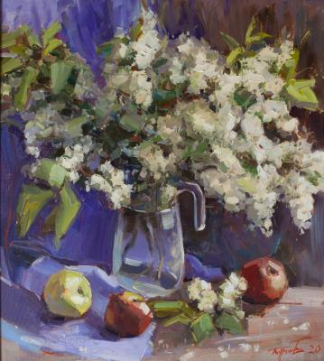 Cherry bouquet. Burtsev Evgeny