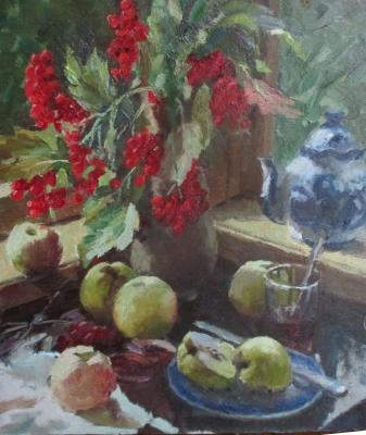 Still-life with kalina. Rubinsky Pavel