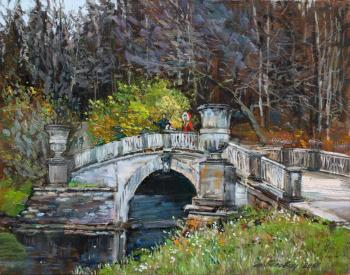 Late October In Pavlovsk. Belevich Andrei