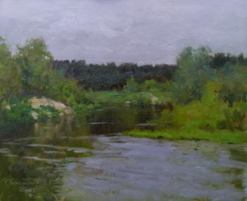 The Khoper River. Twilight. Gololobov Evgenij