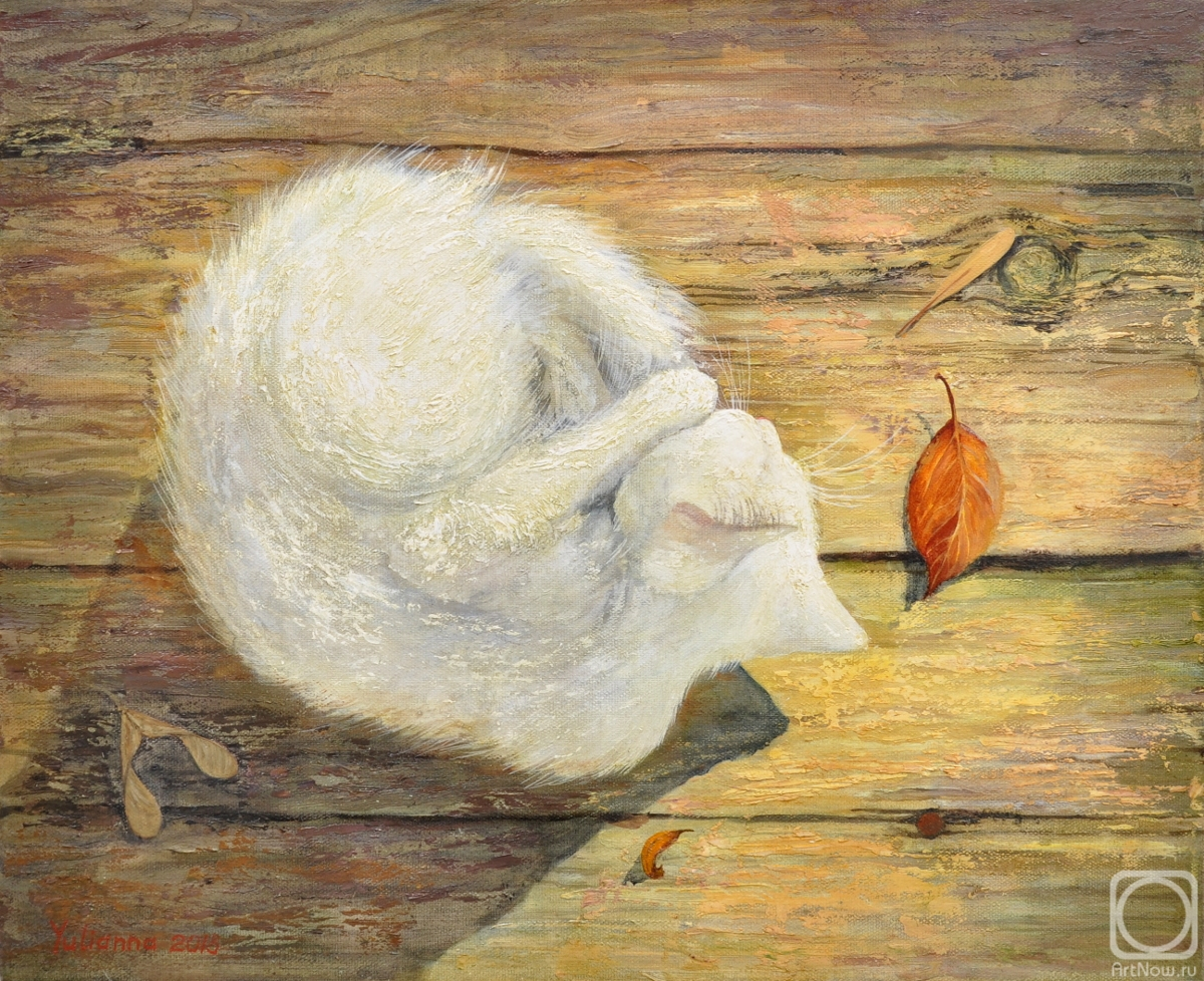 Korotkova Yulianna. The first fall