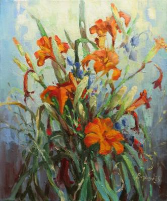 Bouquet of daylilies