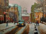 Volkov Sergey. Petrovsky lane in winter