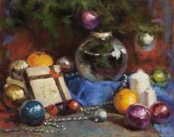 Christmas decoration. Burtsev Evgeny