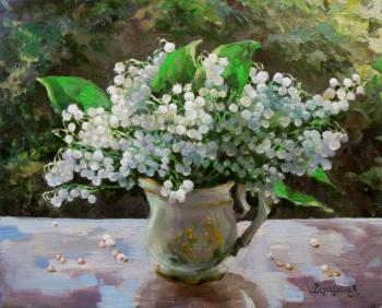 Bouquet of lilies of the valley. Vedeshina Zinaida