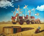 Nikiforov Vyacheslav. Don Quixote and the City of Windmills