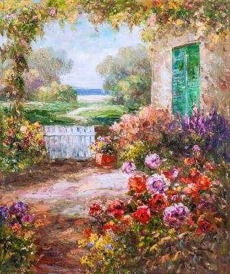 Along the path of the sunny garden. Vlodarchik Andjei