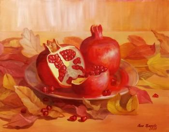 Sweet pomegranate. Krasnova Nina