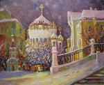 Gerasimov Vladimir. Moscow. Church of Christ the Saviour (Church of the Nativity of Christ)