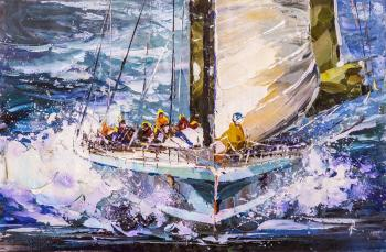 Regatta. Towards victory N3. Rodries Jose