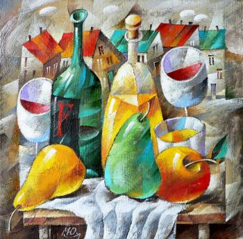 Still life with Limoncello. Matsik Yury