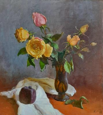 Bouquet of Tea Roses. Ryzhenko Vladimir
