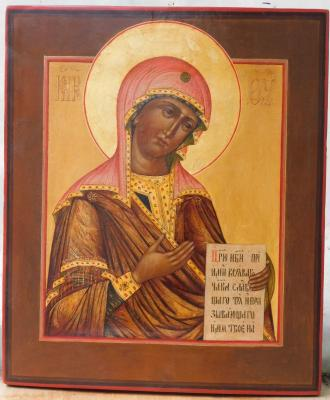 Our lady of the Deesis. Shurshakov Igor