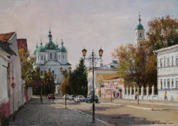 Elabuga. Morning on Spasskaya street. Galimov Azat
