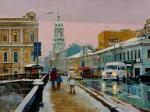Volkov Sergey. Myasnitskaya str. On the Chugunny bridge