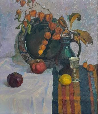 Still Life with Pomegranates. Ryzhenko Vladimir