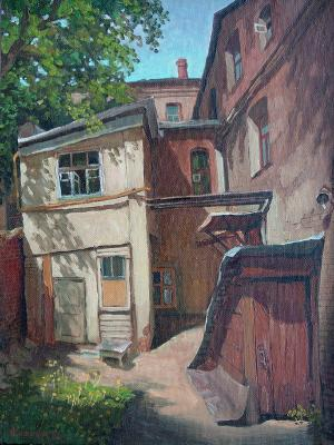 Courtyard in the 1st Zachatievsky lane