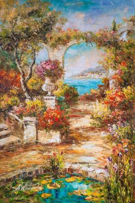 In the Mediterranean courtyard. Vlodarchik Andjei