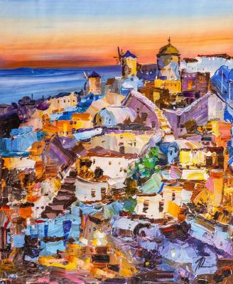 Sunset on Santorini N2. Rodries Jose