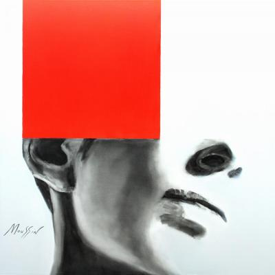 Imagination with red. Moussin Irjan