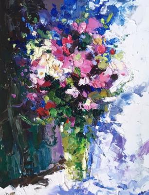 Bright bouquet (Palette Knife). Gavlina Mariya