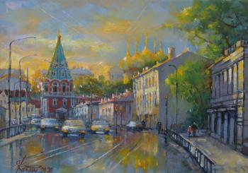Evening on Polyanka street. Kalashnikova Elena