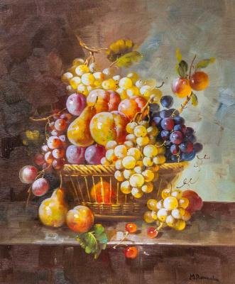 Still life with fruit in the Baroque style N3. Potapova Maria