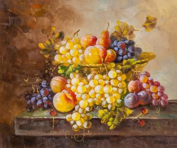 Still life with fruit in the Baroque style N4. Potapova Maria