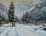 Babich Aleksandr. Winter day in Dombai