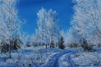 On a frosty Day. Vokhmin Ivan