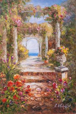 View through the arch to the sea (View Of The Sea). Vlodarchik Andjei