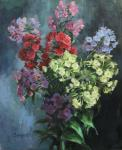 Vedeshina Zinaida. Bouquet of phlox