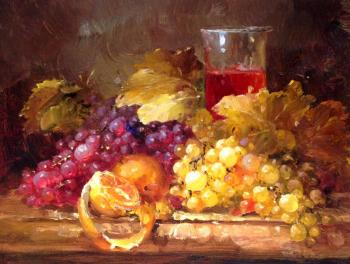 Still life with grapes. Smorodinov Ruslan Aleksandrovich