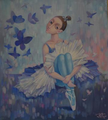 Dance of the butterfly. Panina Kira