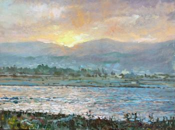 Sunset Near Agia Marina. Belevich Andrei