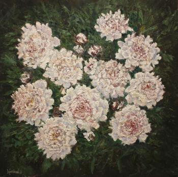 Mother's peonies (Sketch From Nature). Korepanov Alexander