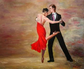 The dance. Volosov Vladmir