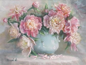 Peonies are royal flowers. Panov Aleksandr