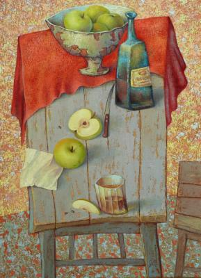 Still life with apples. Sulimov Alexandr
