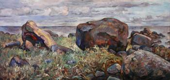 Boulders on the Gulf of Finland (View Of The Sea). Rumiyantsev Vadim