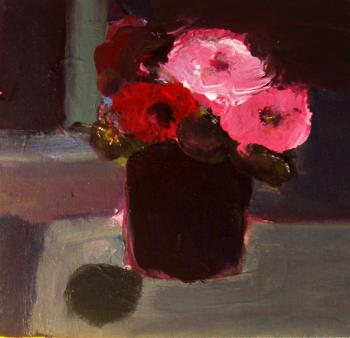 Still life with flowers. Jelnov Nikolay