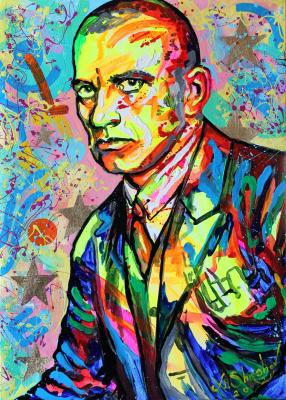 Portrait of the poet Vladimir Mayakovsky. Shirshov Alexander