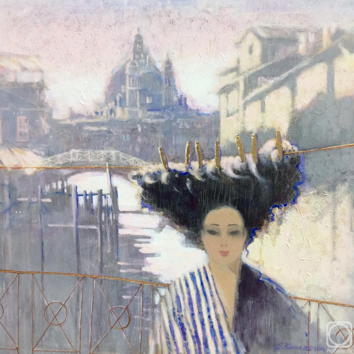 Komarova Elena. Morning in Venice