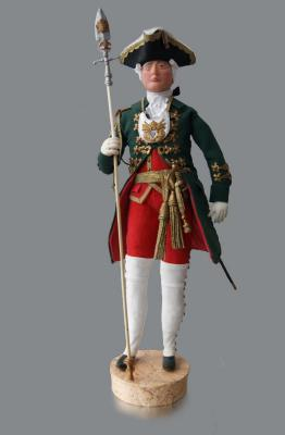 Musketeer officer of the Life Guards of the Izmailovsky Regiment in the reign of Emperor Peter Fyodorovich. Ivanov Aleksandr