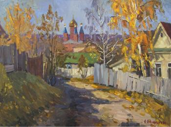 Golden Autumn in Serdobsk. Vilkova Elena