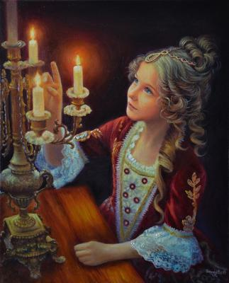 The Night before Christmas (Romanticism). Bakaeva Yulia